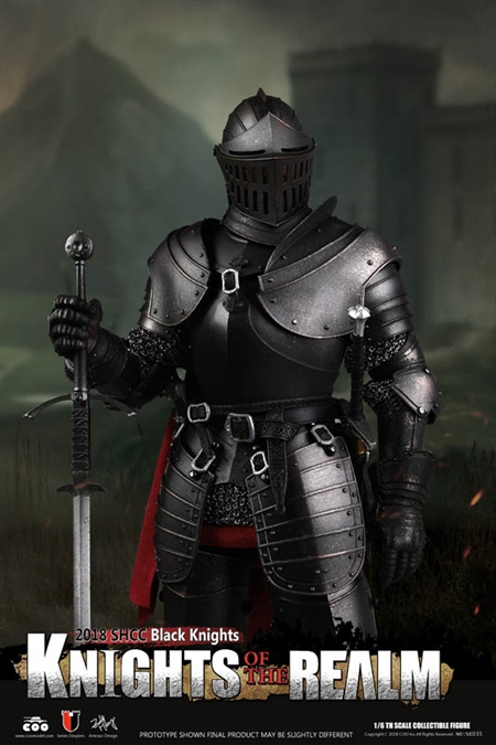 Black Knight - Knights of the Realm - COO Model 1/6 Scale Figure