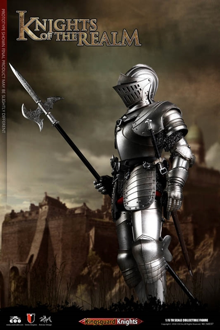 Kingsguard - Die-cast Alloy - Knights of the Realm Series of Empires - COO Model 1/6 Figure