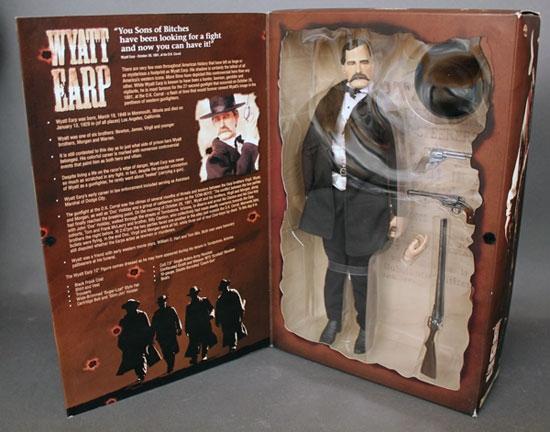 Dings And Dents >> Wyatt Earp - Six Gun Legends - Sideshow 1/6 Collectible Figure