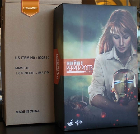 Pepper Potts - Iron Man 3 - MMS 310 - Hot Toys 1/6 Scale Figure CONSIGNMENT