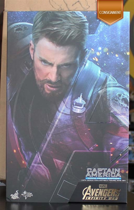 Captain America - Movie Promo Edition - Exclusive - Avengers Infinity War - Hot Toys MMS 481 1/6 Scale Figure