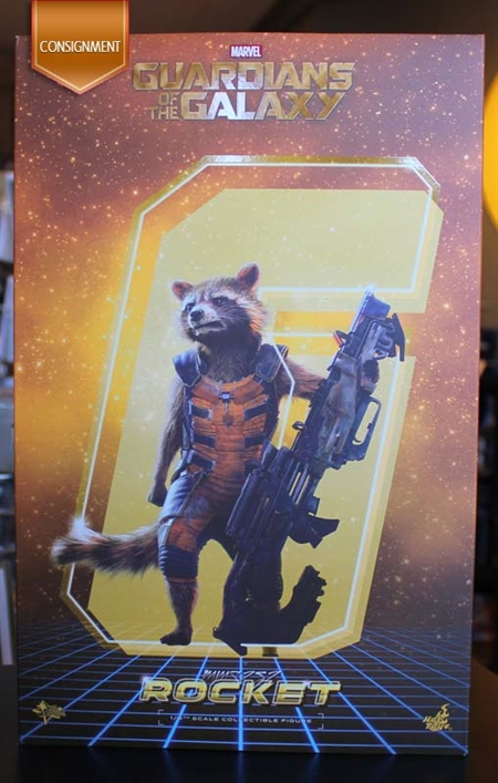 Rocket - Guardians of the Galaxy - Hot Toys MMS252 1/6 Scale Figure CONSIGNMENT