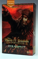 Jack Sparrow - Pirates of the Caribbean - Hot Toys MMS 42 1/6 Scale Figure - CONSIGNMENT