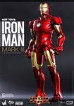 Iron Man Mark III Diecast - Iron Man - Hot Toys 1/6 Scale Figure - CONSIGNMENT