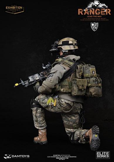 us army 75th ranger regiment saw gunner training version dam toys