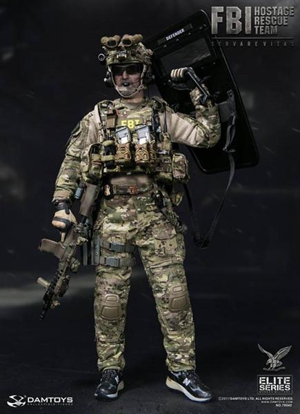 FBI HRT Agent (Hostage Rescue Team) - DAM 1/6 Scale Figure