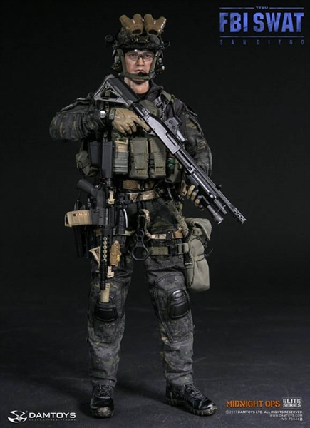 fbi swat team agent san diego midnight ops quotbquot dam 16