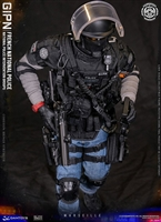 French National Police Intervention Groups GIPN in Marseille - DAM Toys 1/6 Scale Figure