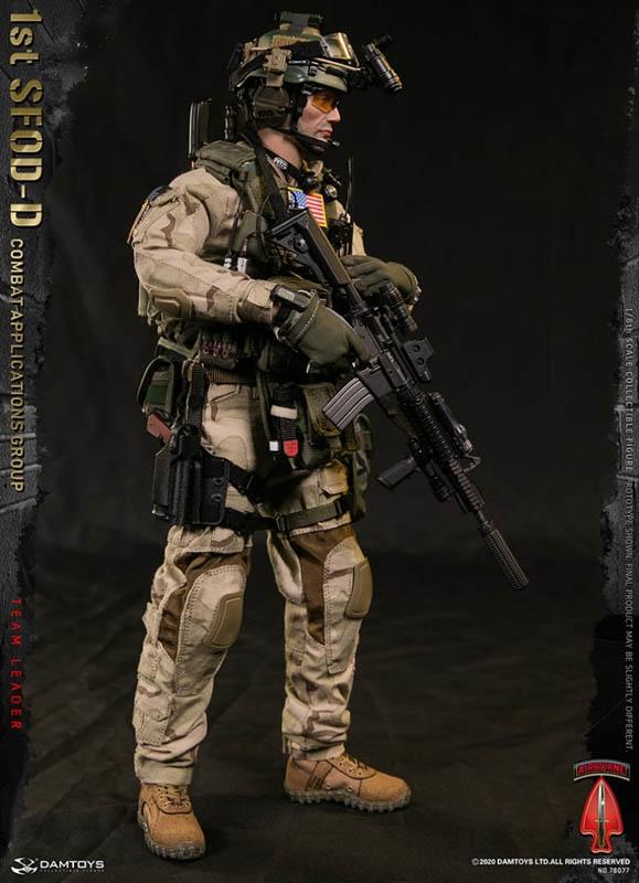 1st sfod d combat applications group team leader dam toys 1 6 scale figure