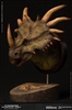 Styracosaurus - Dinosaur Green Version - MUS004A Museum Collection Bust
