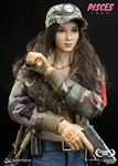 Lucy - Combat Girl Series - Pisces - DAM Toys 1/6 Scale Figure