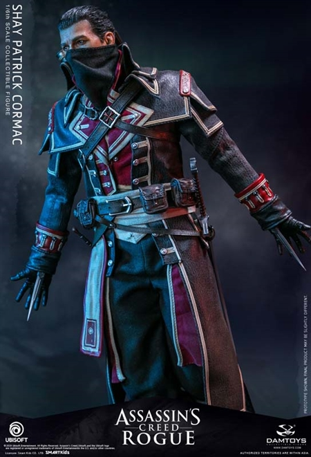 Shay Patrick Cormac Assassin S Creed Rogue Dam Toys 1 6 Scale