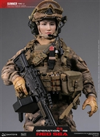 "Tong Li - Red Sea PLA Navy Marine Corps ""Jiao Long"" Special Operations Brigade - DAM Toys 1/6 Scale Figure"