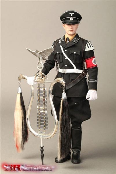 Jarman WWII German Musikkorps 1 6 Figure