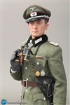 Otto Carius - Field Grey Tunic Version - WWII Wehrmacht Tiger Ace - Oberleutnant - DID/3R 1/6 Scale Figure