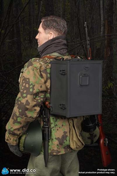 DID Matthias 20th Waffen Division Radio Operator Ver B 1//6 Action Figure Toys