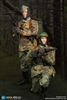 Matthias and Dennis Set - WWII 20th Waffen Grenadier Division of the SS (1st Estonian) Radio Operator - DiD 1/6 Scale Figure