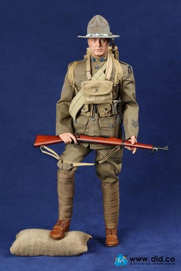 Buck Jones American Expeditionary Force 1917 Did