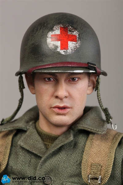 DID T Shirt World War Two 77th division d/'infanterie combat medic dixon 1//6 Figure Toy