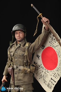 1//6 Scale Toy World War Two 77th INFANTRY Capitaine Sam-ensemble uniforme