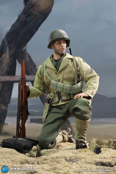 DID 1//6 Scale WWII US 2nd Ranger Battalion Series 1 Private Caparzo Jacket