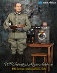 Major Achbach - German Communications Set 1 - DID 1/6 Collectible Figure