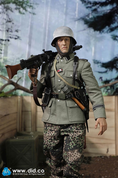 "DID D80130 1//6 WWII German MG42 Machine Gunner Dustin Boots Model For 12/"" Figure"