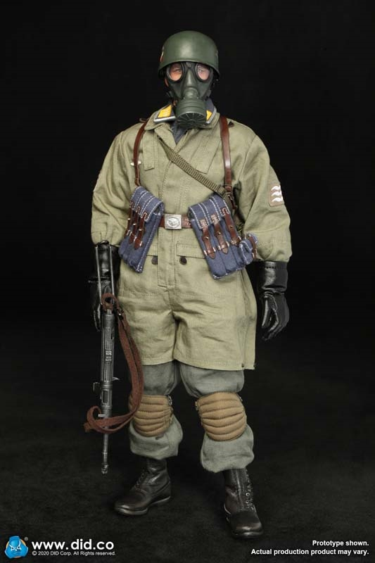 DID 1:6TH SCALE WW2 German Fallschirmjager Nude Figure Schmeling