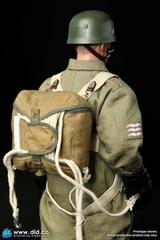 1/6 WWII German Parachute - Fallshirmjager - Zhukovs Attic