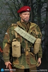 Sergeant Charlie - Bearded Version - World War II British 1st Airborne Division (Red Devils) - DiD 1/6 Scale Figure