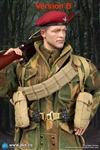Sergeant Charlie - Clean Version - World War II British 1st Airborne Division (Red Devils) - DiD 1/6 Scale Figure