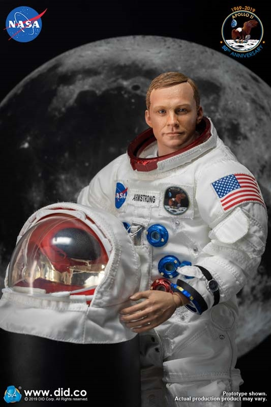 Neil Armstrong Apollo 11 Spacesuit Replicas (15 Life Size ... |Neil Armstrong Suit Badge