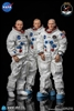 Apollo 11 Astronauts - Armstrong, Aldrin, Collins - DiD 1/6 Scale Figure