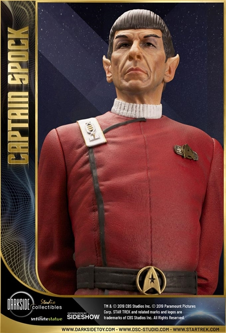 Leonard Nimoy as Captain Spock - DarkSide Collectibles Studio 1/3 Scale Statue
