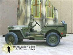 1/4 Ton 4x4 Jeep with US 12th Army Group Commander Markings