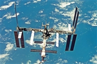 ISS International Space Station Phase 2007 - Dragon Models 1/400 Model Kit