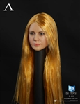 Female Hair with Long Hair - Straight Version - 1/6 Scale