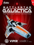 Viper Mark I (Classic) - Battlestar Galactica - Eaglemoss Model