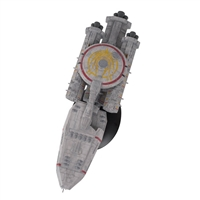 Loki Heavy Cruiser - Battlestar Galactica - Eaglemoss Model