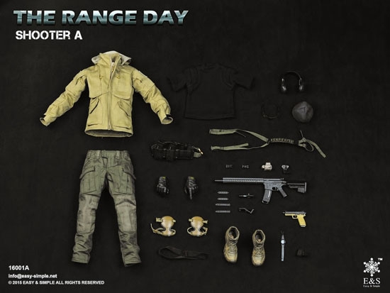 Range day shooter gear set a range day shooter gear set a easy and simple 16 scale accessory sciox Image collections