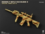 Tora Bora - HK416 Assault Rifle Block 3 E - Easy and Simple 1/6 Scale Accessory