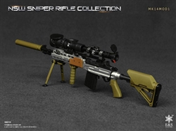 NSW Sniper Rifle E - MK14MOD1  - Easy and Simple 1/6 Scale