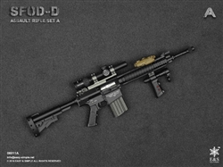 SFOD-D Assault Rifle Set A - MSE1/6 Scale Accessory