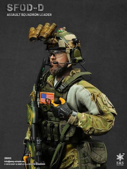 Sfod D Assault Squadron Leader
