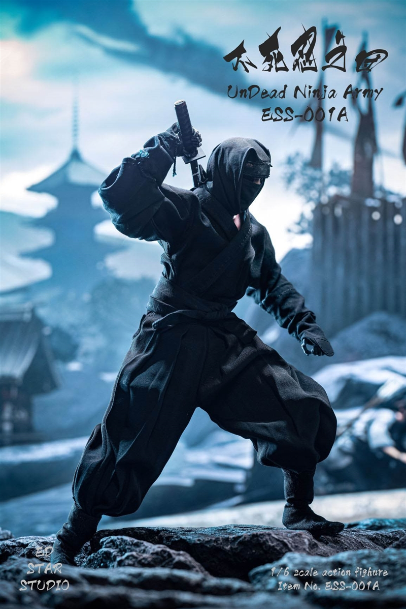 Undead Ninja Army - Black Version - EdStar 1/6 Scale Figure