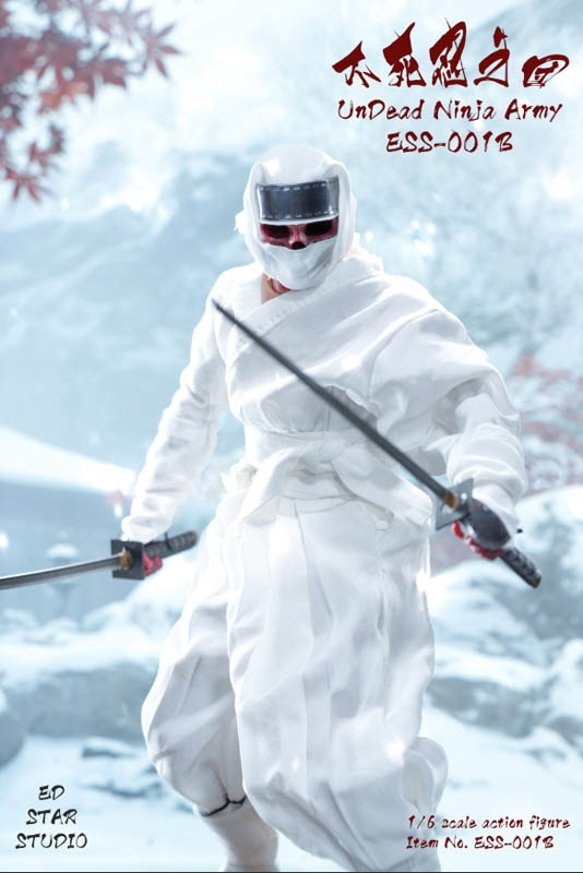 Undead Ninja Army - White Version - EdStar 1/6 Scale Figure