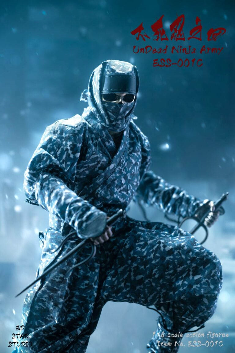 EdStar 1//6 Scale ESS-001 Undead Ninja Action Figure Camouflage Model Collection