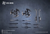 Undead Ninja Army Weapons Set - EdStar 1/12 Scale Weapons Set