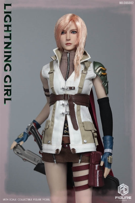 Lightning Girl - Figure Coser 1/6 Scale Accessory