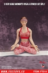 Women's Yoga & Fitness Set Vol.1 - Feel Toys 1/6 Scale Accessory
